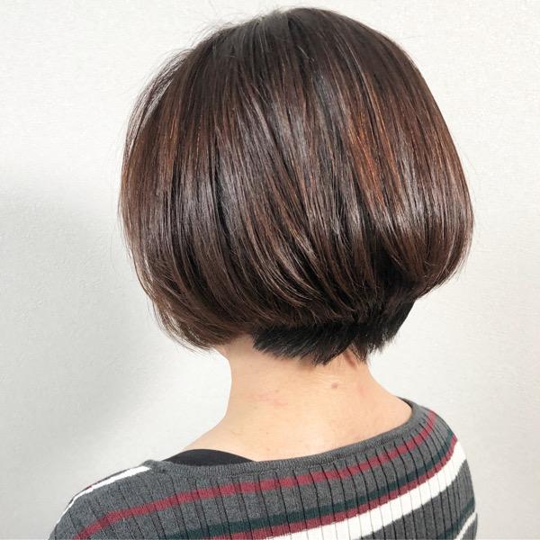 堺市 鳳 美容室 トリートメント 髪質改善 ボブ
