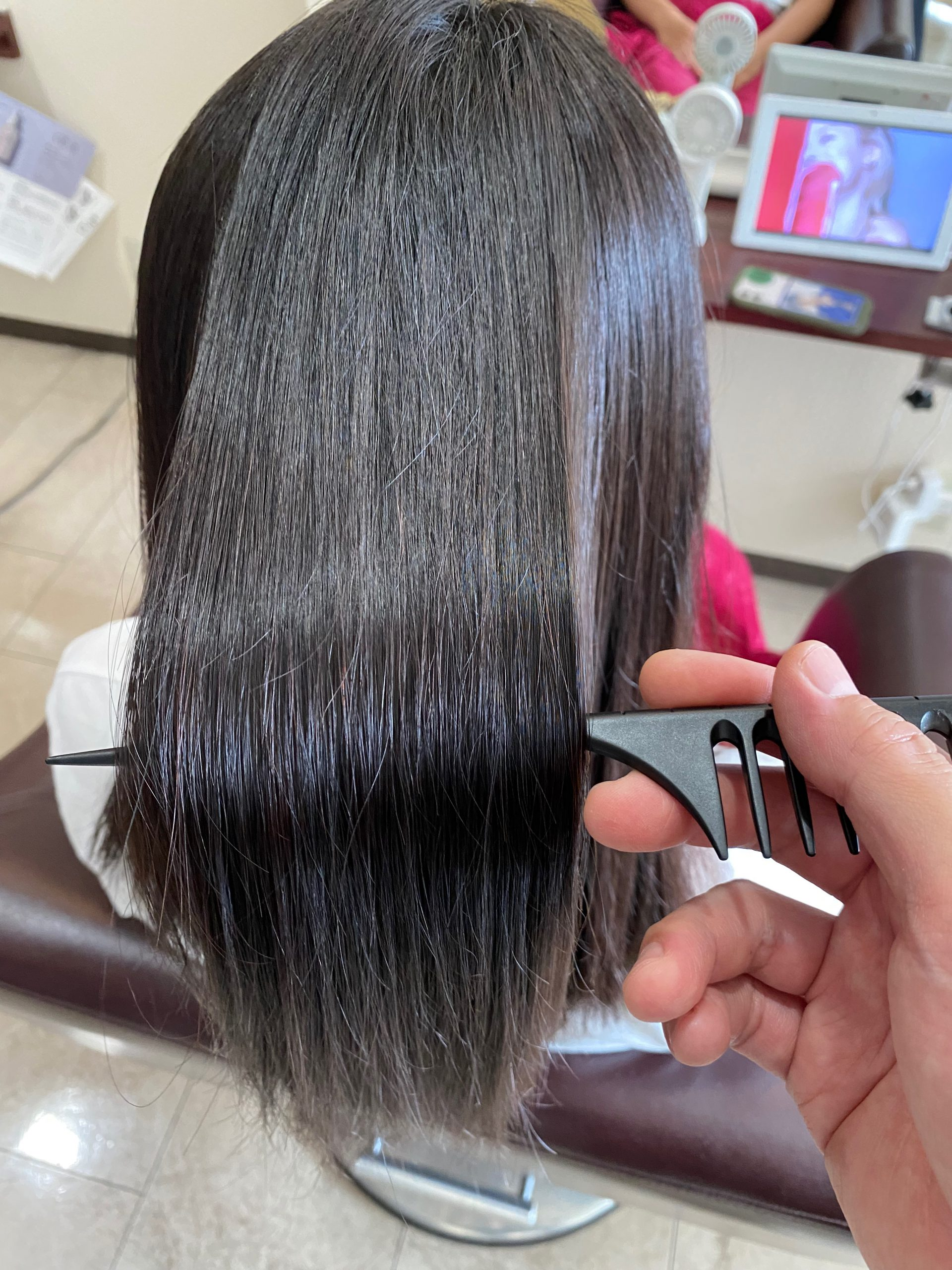 縮毛矯正 髪質改善 艶髪 トリートメント 大阪 堺市 仕上がり 美容 高石 和泉 泉大津 岸和田 ヘアカラー