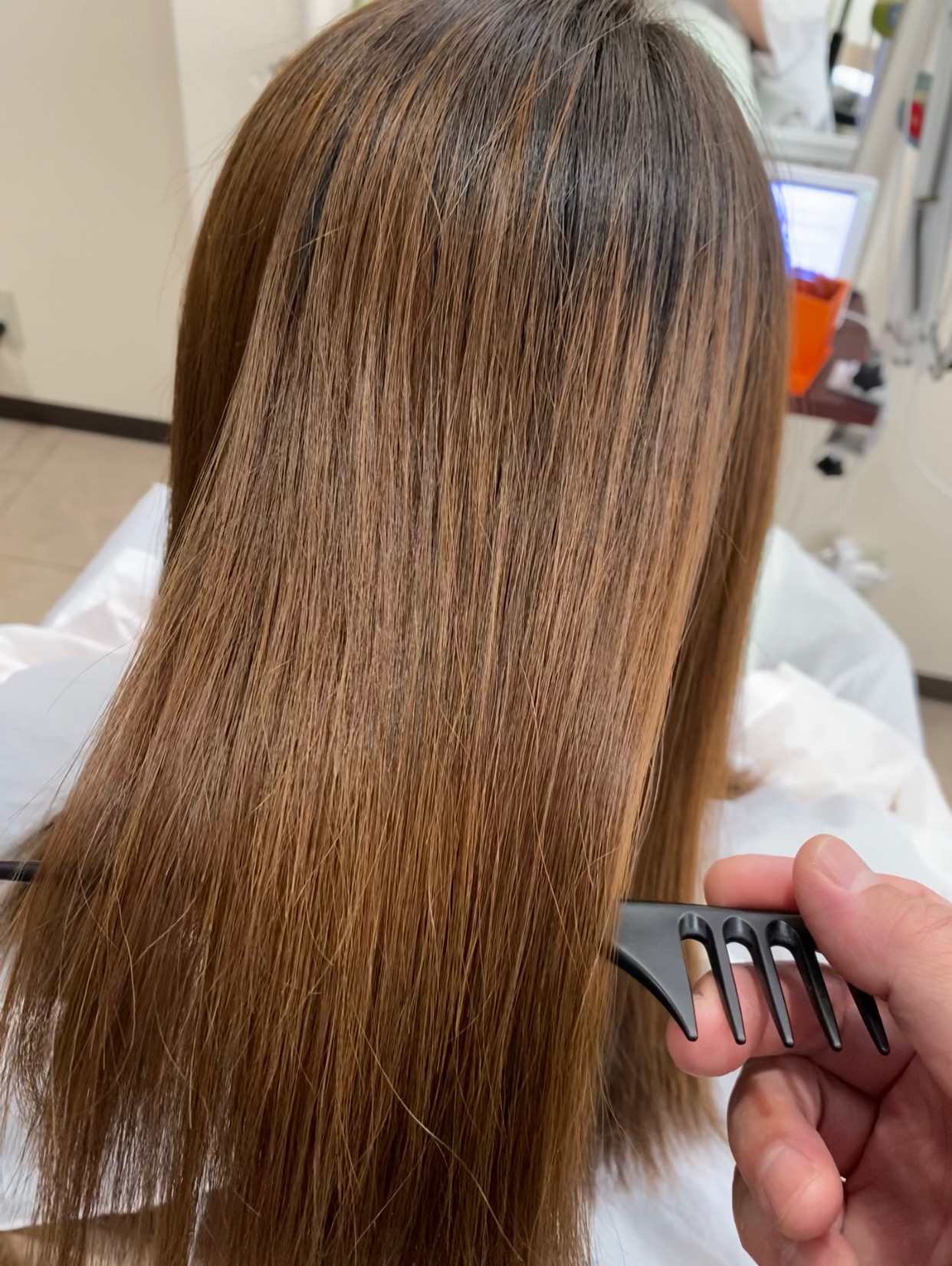縮毛矯正 髪質改善 ブリーチ毛 ハイライト 大阪 美容室 堺市